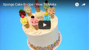 sponge cake tutorial,sponge cake,vanilla cake,cake video,receta bizcocho,sponge cake video,