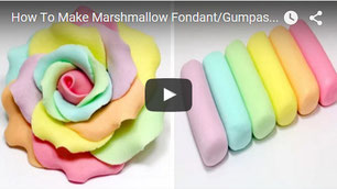 cake fondant recipe,fondant recipe,marshmallow fondant,fondant how to,fondant video tutorial,