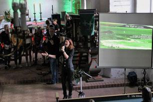 """Vom 09. - 11. 08.19 fand in Kirchhatten unser Workshop """"Stark durch Musik"""" statt mit einem Abschlusskonzert in der St. Ansgari - Kirche. Mehr Fotos unter """"Bild und Sound"""""""