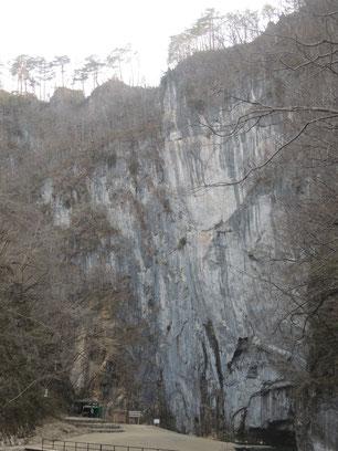 大猊鼻岩 124m!いつ見ても大迫力!