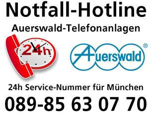 Notfall-Hotline: 089.85 63 07.70