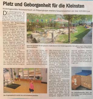 Presseartikel aus der Hünfelder Zeitung vom 04.05.2018