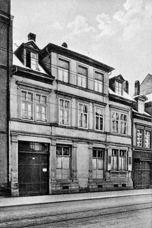 St. Elisabethenhaus (Schwesternstation mit Kindergarten und Nähschule), Westliche 121, zerstört am 23. Februar 1945