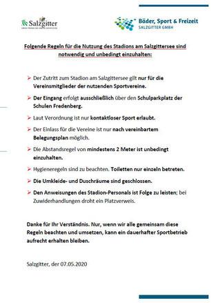 Regeln_Stadion am Salzgittersee