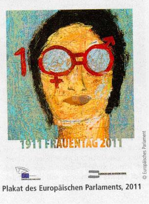 Plakat: 100 Jahre Frauentag