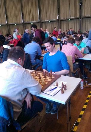 GRENKE Chess Open, Nikolas Lubbe, Rainer Buhmann