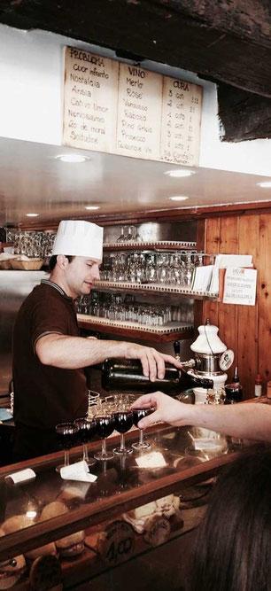 Bacareto da Lele Wein Bar, Santa Croce Venedig