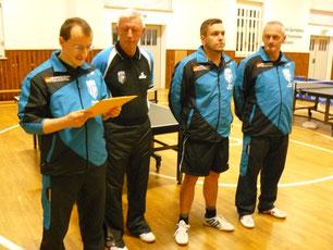 MSV I - Norman Schusser, Peter Schliwa, Mario Böttger und Maik Fröhlich (v.l.)