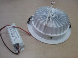 Downlight led 25 w