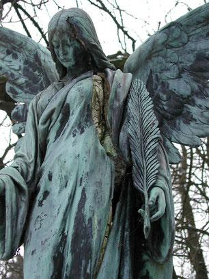 Engel Künstler: Lehnert Ohlsdorfer Friedhof Bild: Susann Wuschko