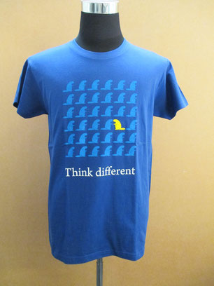 T-Shirt Think different Biberach Biber Beaver