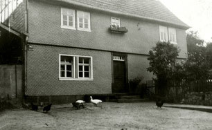 Haus Nußbaum früher (Sammlung Herbert Jakob)