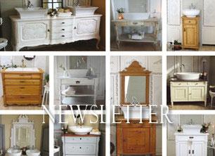 waschtische land liebe badm bel landhaus. Black Bedroom Furniture Sets. Home Design Ideas