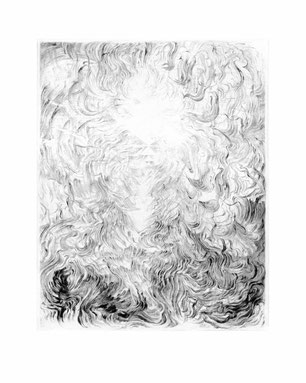Matthias-Wyss-Kupferstich-Kaltnadel-Copper-Engraving-Drypoint-Cycle-2008–2009-Printing-Plate-20X25-Cm-N°7