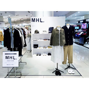 MHL. POPUP STORE