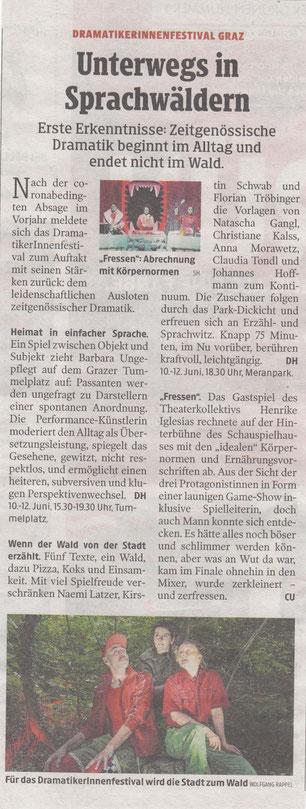 Kleine Zeitung, 10.06.2021