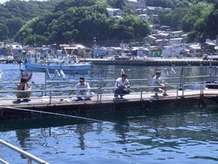 2012年熱海(海釣り堀)