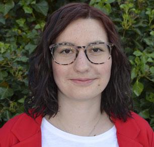 Regieassistentin Patricia Hachtel