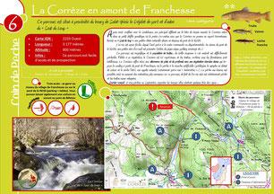 Coin de pêche n°6 - La Corrèze en amont de Franchesse
