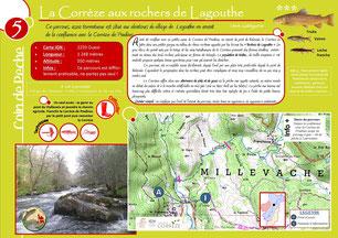 Coin de pêche n°5 - La Corrèze aux rochers de Lagouthe