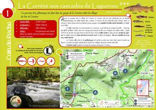 Coin de pêche Corrèze n°1 - La Corrèze à Laguenou