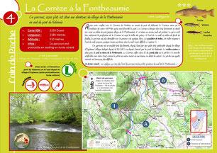 Coin de pêche Corrèze n°4 - La Corrèze à la Fontbeaumie