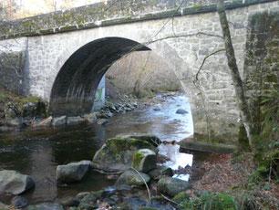 La Corrèze au pont de Neupont le 04/11/2012