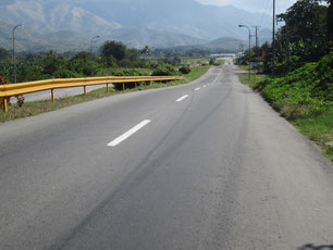 Straße nach Siboney
