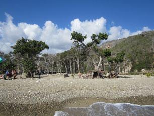 Strand kurz vor Guantanamo