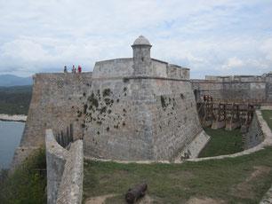 Kastell in Santiago de Cuba