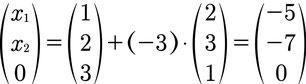 Spurpunkt berechnen einer Geradengleichung