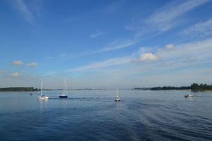 Boote auf dem Veerse Meer