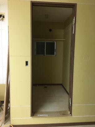 トイレ・施工途中の画像4