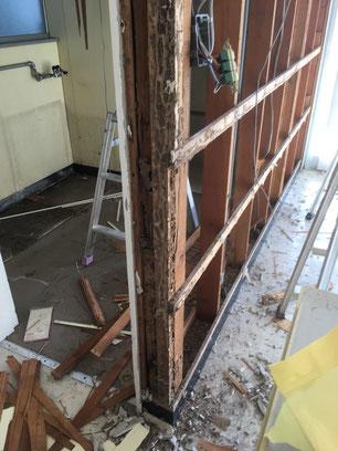 トイレ・施工途中の画像1
