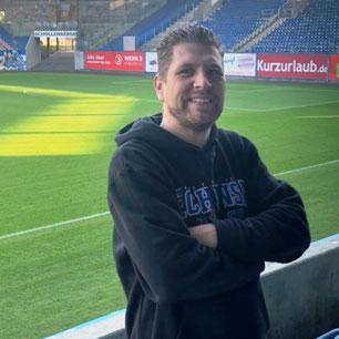 Olli Schubert, Eventmanager und PR-Verantwortlicher vom F.C. Hansa Rostock, Moderator, Sportreporter