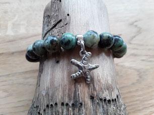 Hippie-Armband mit Seestern