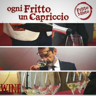"""""""Fritto Misto"""" ospita anche tanti eventi legati al mondo del vino, con degustazioni guidate, incontri, seminari etc."""