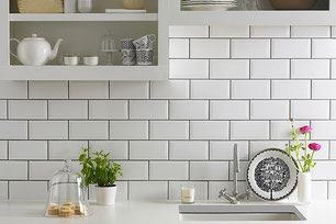 Metro 10x20cm Wall Tiles Brick Pattern