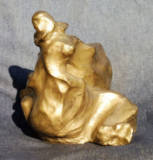 Naîade  (vue n°3)-( bronze )