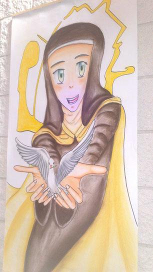 Imagen de Santa Teresa de Jesús en nuestra parroquia