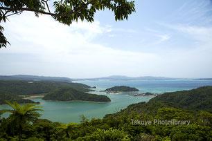 塩屋湾 六田原展望台からの眺め 沖縄の風景