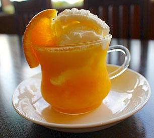 氷粒マンゴオレンジアイス