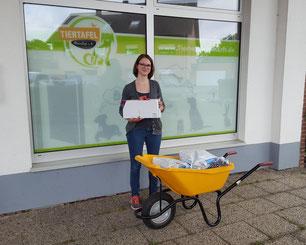 Spenden für die Tiertafel RheinErft