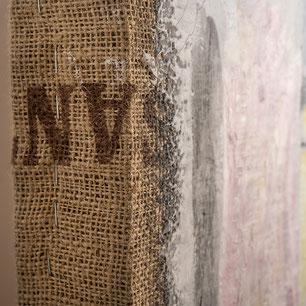 FOLLA  di Nino Basso  - particolare spessore cornice