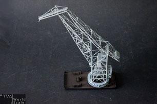 Demag 100t Auslegerwippdrehkran - 1/350 by BJ Kleinserien