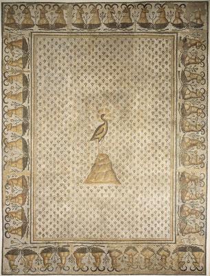 Fragment de Mosaïque Ve ap.JC Musée du Louvre