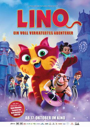 Lino ein voll verkatertes Abenteuer Plakat