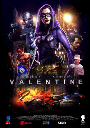 Valentine The Dark Avenger Poster