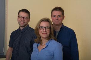 Dr. Gerdt Hübner, Dr. Clemens Engels, Dr. Yael Bonnin-Gruber