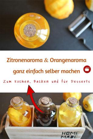 Zitronenaroma Orangenaroma einlegen und konservieren #einmachen